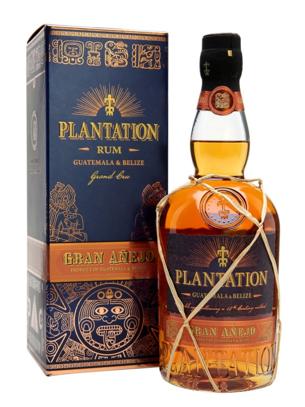 Plantation Guatemala and Belize Rum 42% 70cl-30