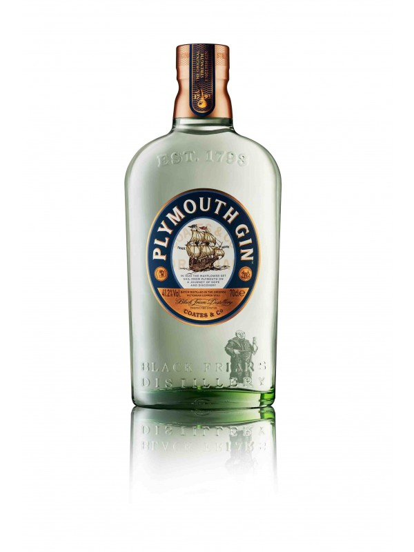 Plymouth Gin 41,2% 70cl-30