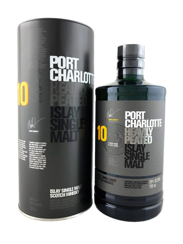 Port Charlotte 10 YO Heavily Peated Islay Single Malt Whisky