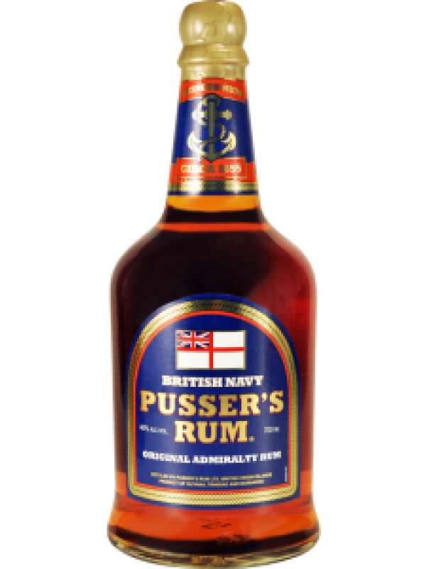 Pussers British Navy Rum Blue Label 40% 70cl Rom fra Guyana/Trinidad-30