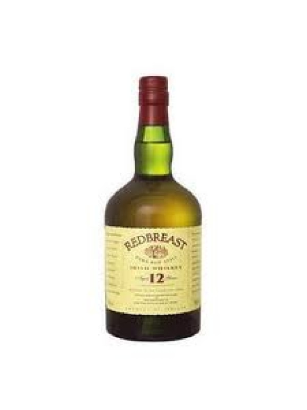 Redbreast 12 år Irish Whiskey 40% 70cl-30