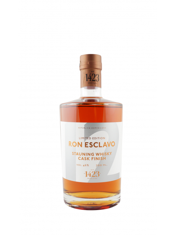 Ron Esclavo Solera 12 år Stauning Whisky Cask Finish rom