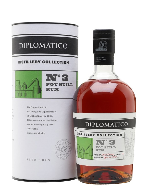 Diplomatico Distillery Collection No 3 Pot Still Rum