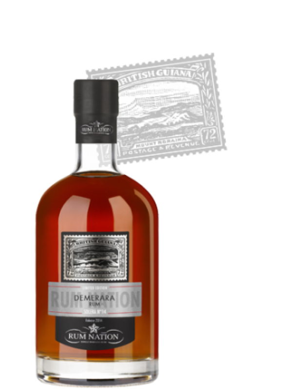 Rum Nation Solera No. 14 Demarara 40% 70cl Rom fra Guyana-30