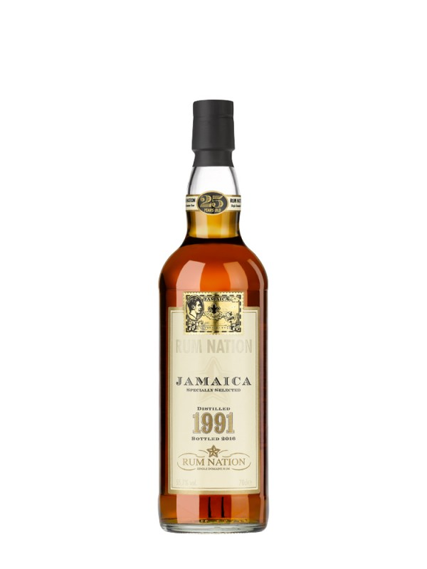 Rum Nation 1991 Jamaica 25 år Supreme Lord VIII 55,7% 70cl-30