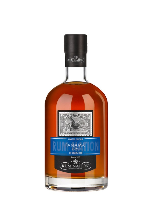 Rum Nation Panama 10 års rom 40% 70cl-30