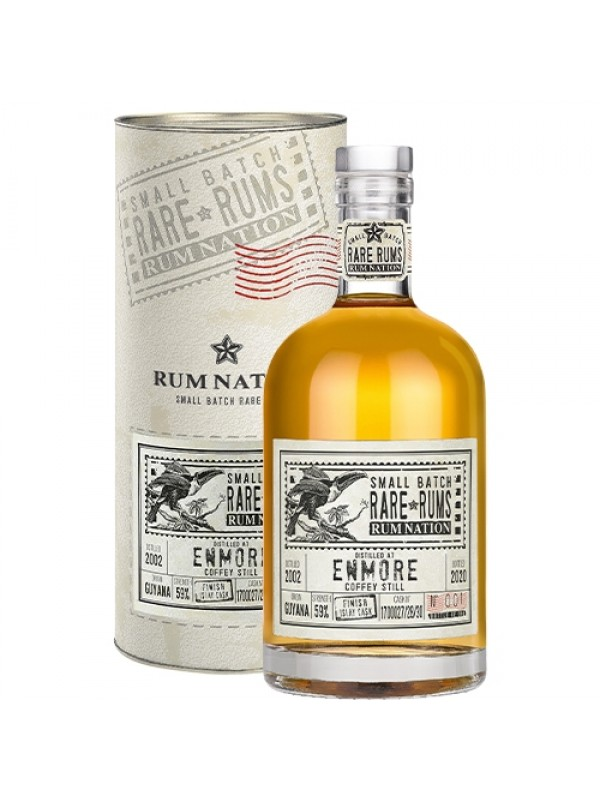 Rum Nation Rare Rums Enmore KFM 2002 Islay Cask Finish 18 års rom
