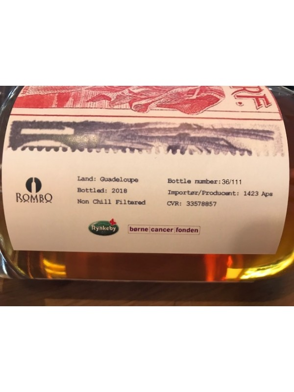 Guadeloupe Single Cask 2018 Rum