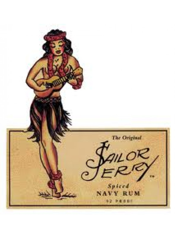 Sailor Jerry Spiced Rum 40% 70cl Rom fra Caribien-30