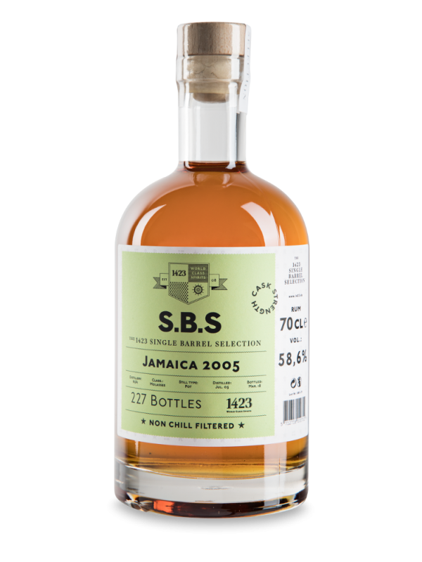 SBS Jamaica 2005 Single Barrel Selection Rum