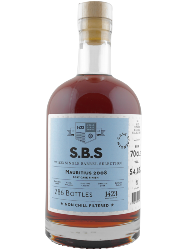 SBS Mauritius 2008 Single Barrel Selection Edition 2019 rom