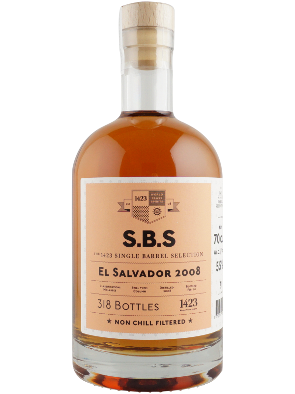 SBS El Salvador 2008 Single Barrel Selection 2020 Edition Rom