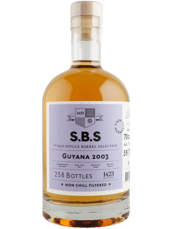 SBS Guyana 2003 Single Barrel Selection 2020 Edition Rom