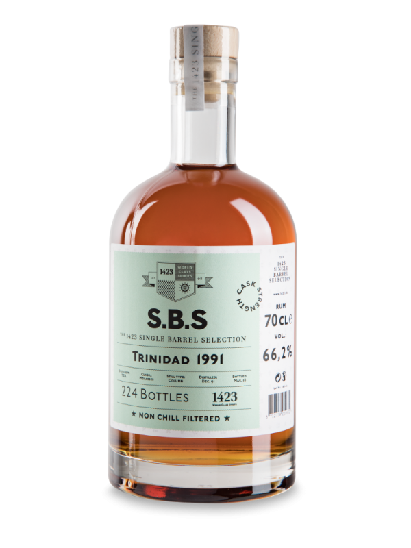 SBS Trinidad 1991 Single Barrel Selection Rum