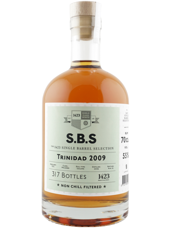 SBS Trinidad 2009 Single Barrel Selection rom