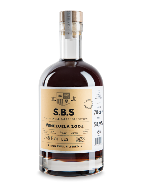 SBS Venezuela 2004 Single Barrel Selection Rum