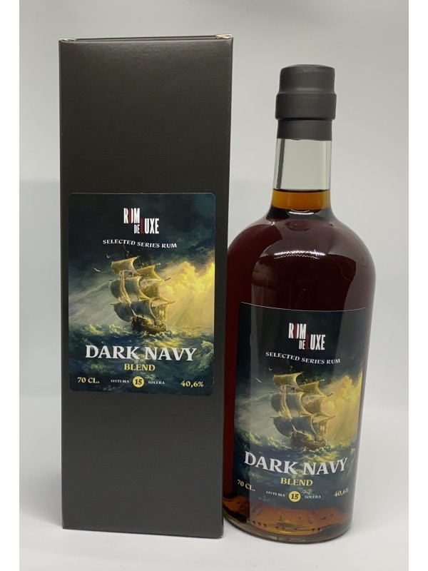 Selected Series Rum Dark Navy Blend Rom de Luxe