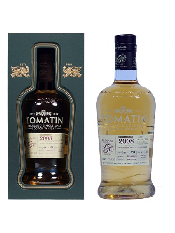 Tomatin 2008 Single Highland Malt Scotch Whisky
