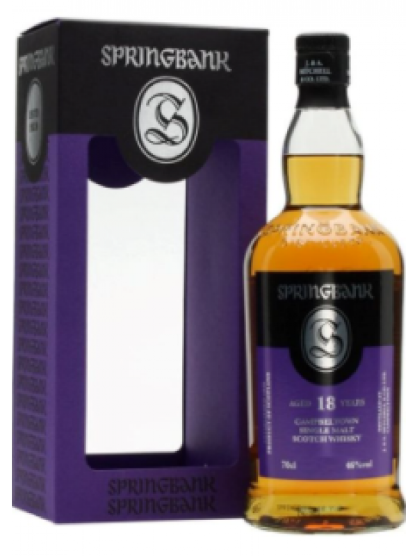 Springbank 18 Years Old Limited Edition Campbeltown Single Malt Scotch Whisky