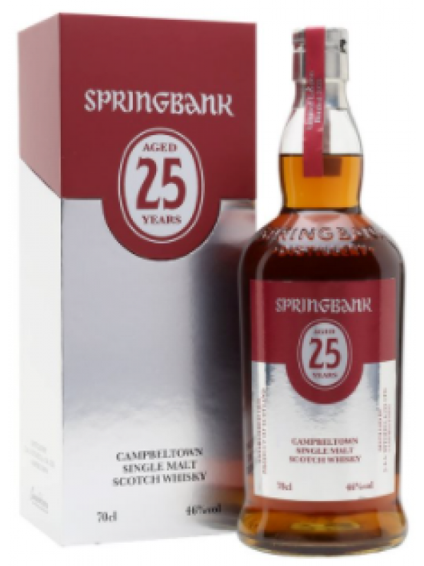 Springbank 25 Years Old Limited Edition Campbeltown Single Malt Scotch Whisky