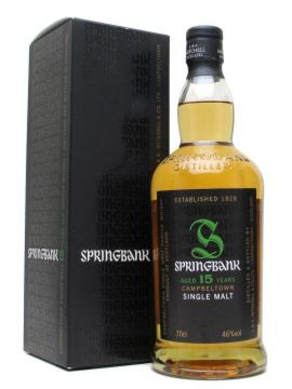 Springbank 15 år Campbeltown Single Malt Whisky 46% 70cl-30