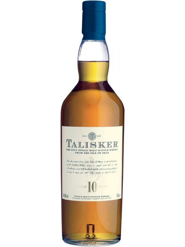Talisker 10 år Single Malt Whisky 45,8% 70cl-30