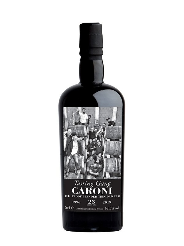 Tasting Gang Caroni 23 YO Full Proof Blended Trinidad Rum