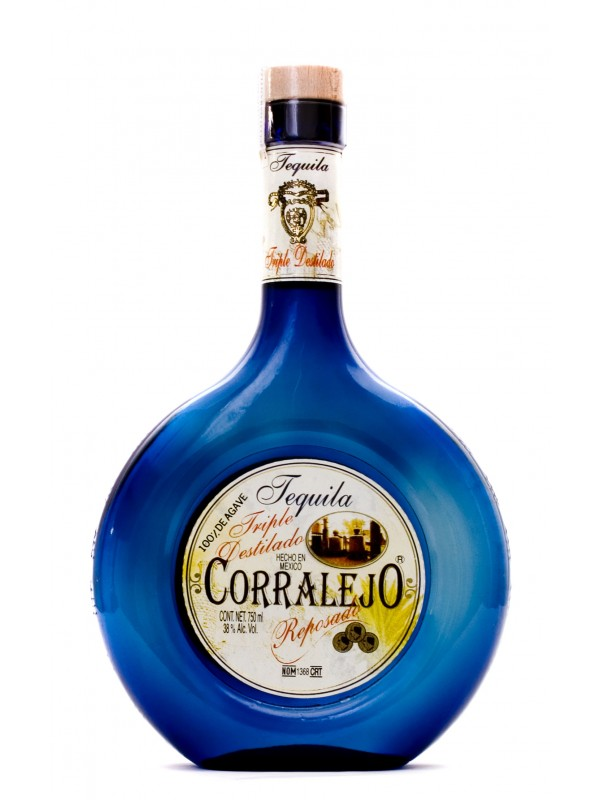 Tequila Corralejo Reposado Triple Distilled 38% 70cl-30