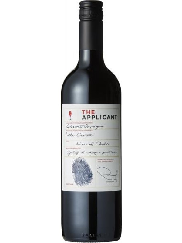 The Applicant 2017 Cabernet Sauvignon Central Valley chilensk rødvin