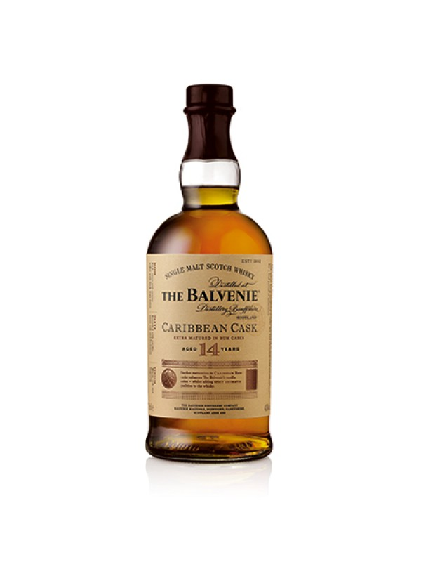 The Balvenie Caribbean Cask 14 år single malt whisky 43% 70cl-30