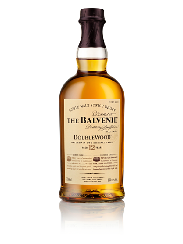 The Balvenie DoubleWood 12 år single malt whisky 40% 70cl-30