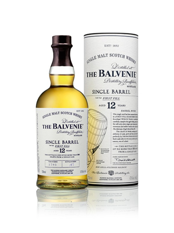 The Balvenie Single Barrel First Fill 12 år single malt whisky 47,8% 70cl-30