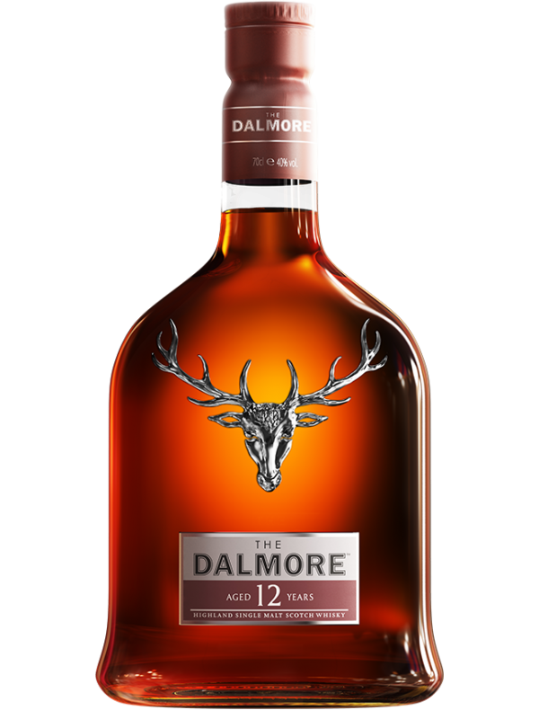 The Dalmore 12 år Highland Single Malt Scotch Whisky 40% 70cl-30