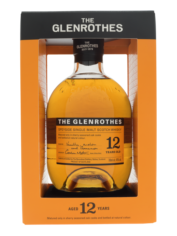 The Glenrothes 12 Years Old Single Malt Whisky
