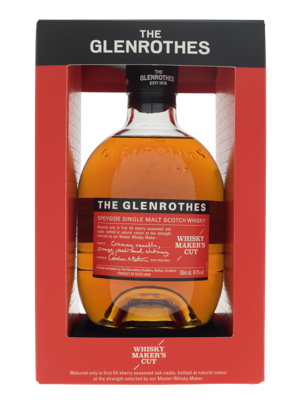 The Glenrothes Whisky Makers Cut Single Malt Whisky