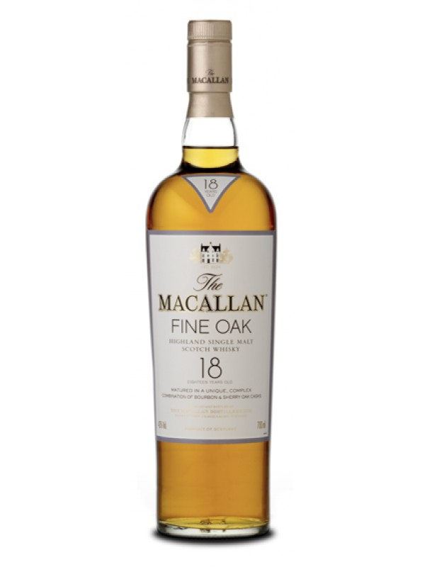 The Macallan 18 år Fine Oak Single Malt Whisky 43% 70cl-30