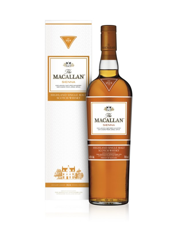 The Macallan Sienna 1824 Series Single Malt Whisky 43% 70cl-30