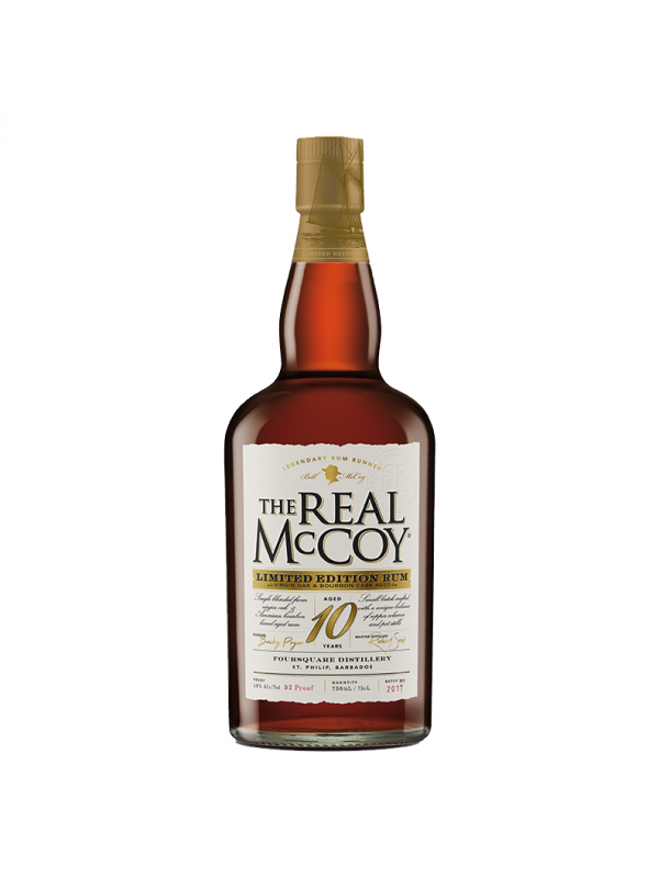 The Real McCoy 10 års rom Limited Edition Rum
