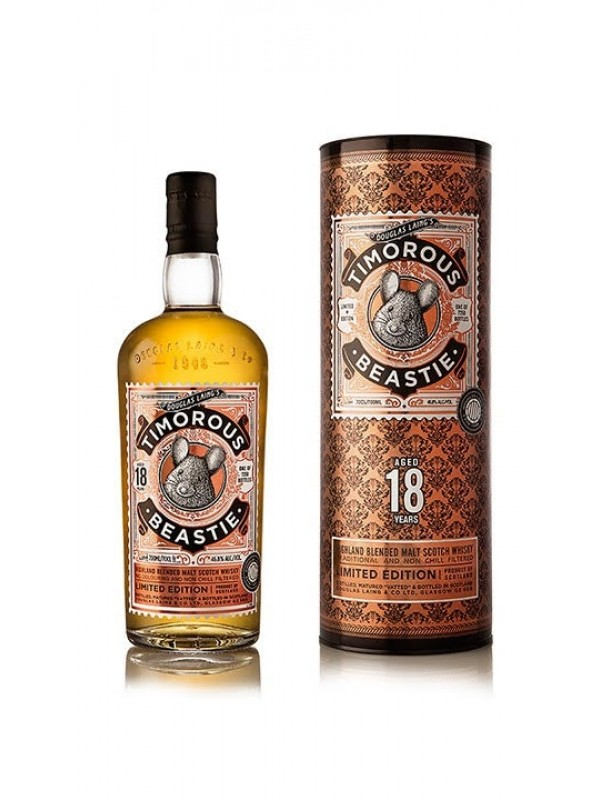 Timorous Beastie 18 år Highland Blended Malt Whisky