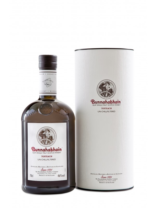 Bunnahabhain Toiteach Single Malt Whisky 46% 70cl-30