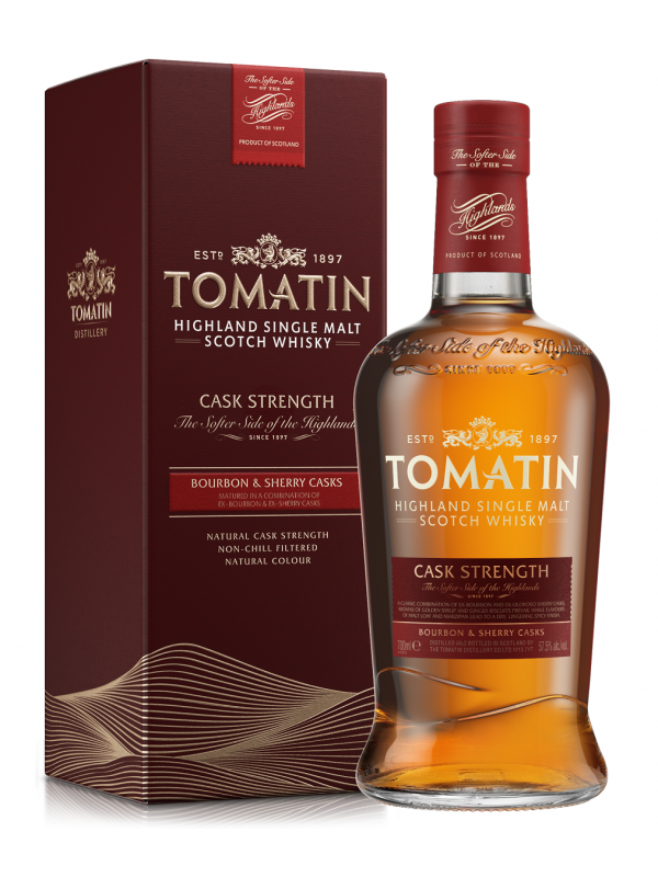 Tomatin Cask Strength Edition Single Malt Highland Scotch Whisky