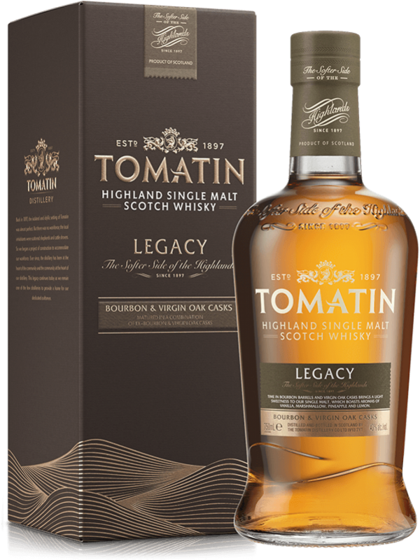 Tomatin Legacy Single Malt Highland Scotch Whisky