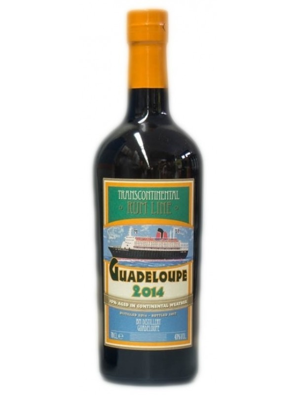 Transcontinental Rum Line Guadeloupe 2014 rom
