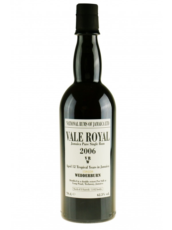 Vale Royal 2006 Rum Wedderburn Long Pond VRW rom