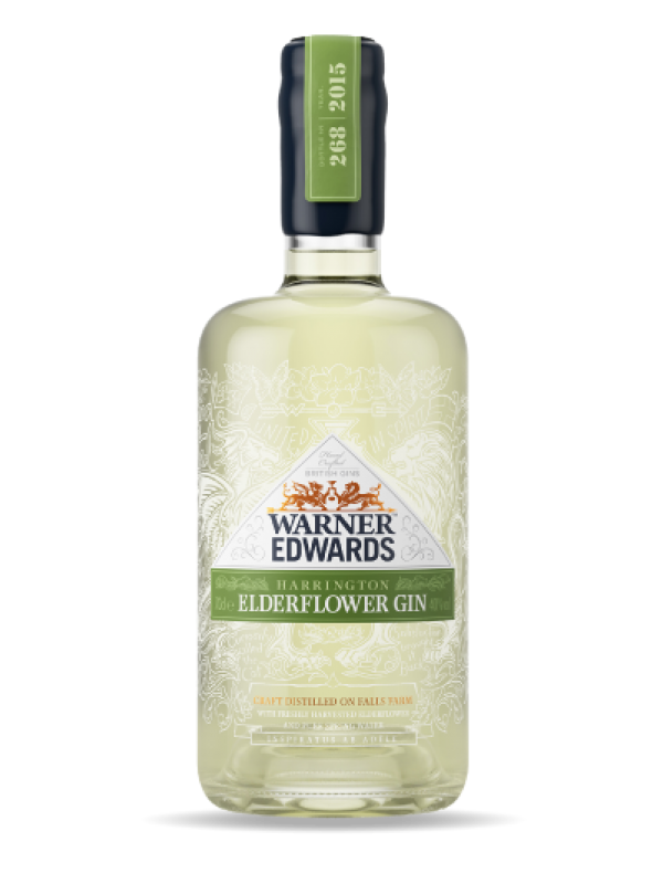 Warner Edwards Harrington Elderflower Gin