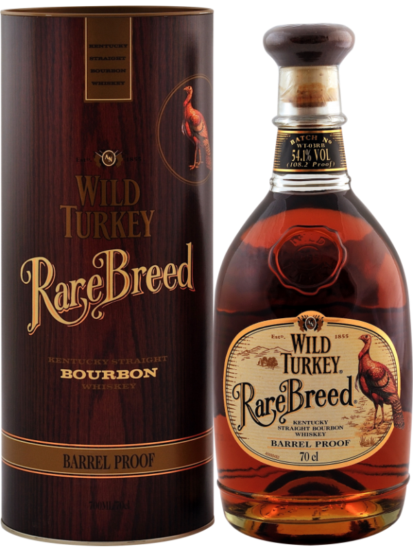 Wild Turkey Rare Breed Barrel Proof Bourbon Whiskey