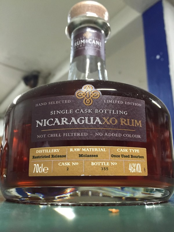 West Indies Rum and Cane Nicaragua XO Rum 46% 70cl-30