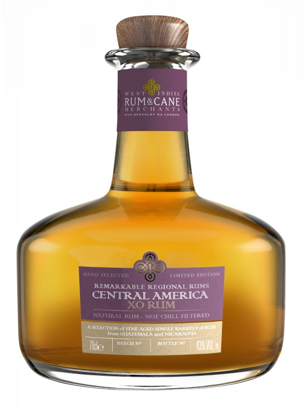 West Indies Rum and Cane Central America XO Rum 43% 70cl-30