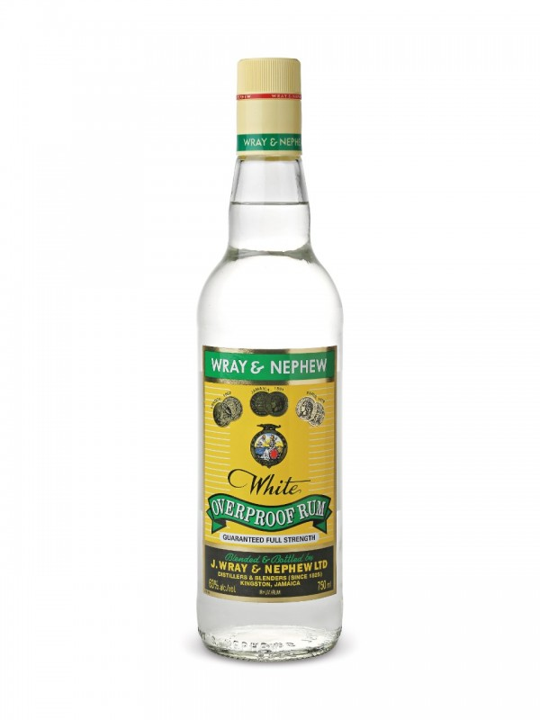 Wray and Nephew White Overproof Rum 63% 70cl Rom fra Jamaica-30
