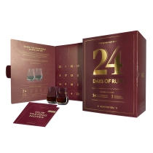 24 Days of Rum 2021 front open